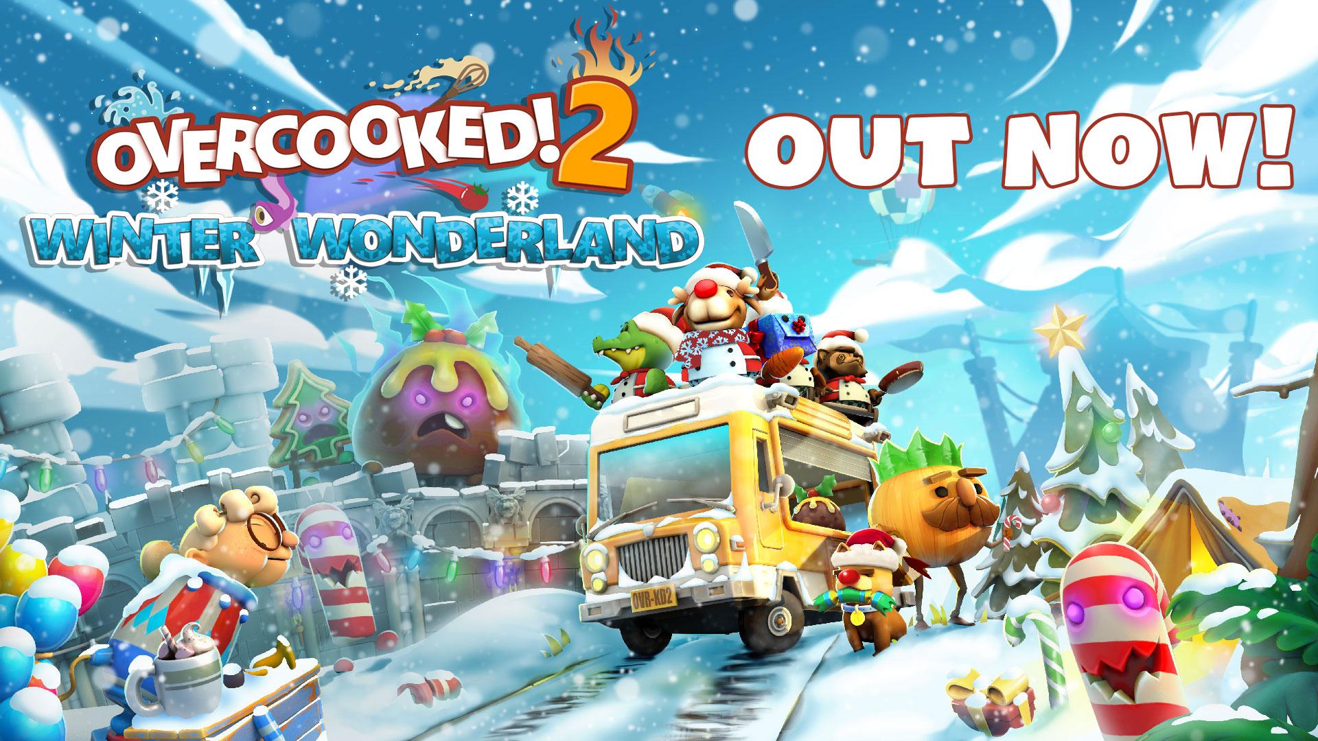 【免費更新】《Overcooked! 2》新角、新食譜,調整過的廚房關卡